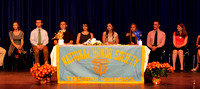 THS National Honor Society Induction 2015-10-16